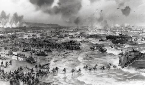 STUNNING D-DAY FACTS (Illustration) Biographies Famous Historical Events Famous People Social Studies American History World War II