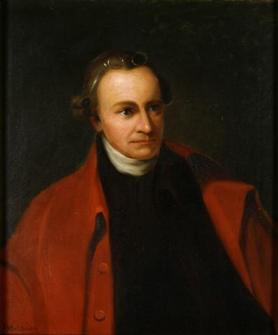 Patrick Henry - Portrait American History Famous People Law and Politics American Revolution