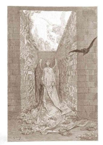 Dore Illustration - Raven - Angels Name Poetry American History Famous People Social Studies Visual Arts Nineteenth Century Life
