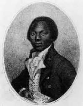 OLAUDAH EQUIANO (Illustration) Biographies Civil Rights Famous People Geography Law and Politics Social Studies Visual Arts World History African American History Slaves and Slave Owners