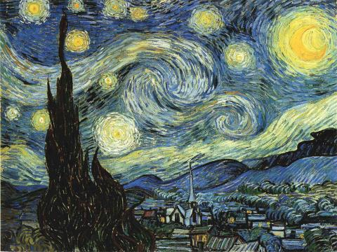 Starry Night - Vincent's Famous Painting Biographies Tragedies and Triumphs Nineteenth Century Life Famous People