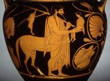 Achilles - With His Father, Peleus