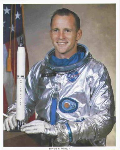 Ed White - American Astronaut American History Famous People STEM Aviation & Space Exploration