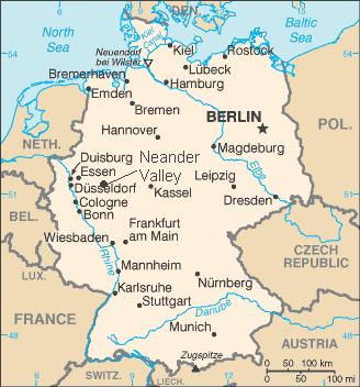 Map Of Germany Showing Dusseldorf.Dusseldorf Map Locator