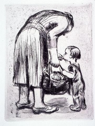 The Joy of Motherhood Depicted by Kollwitz Social Studies Visual Arts World History World War I Tragedies and Triumphs