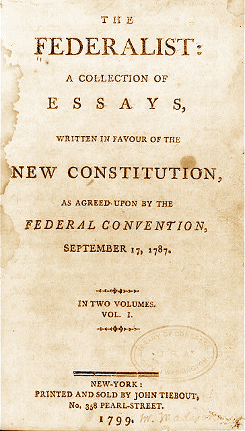 jefferson federalist papers