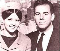 Abagnale with a PanAm Stewardess