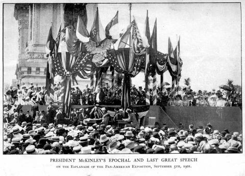 McKinley Giving His Last Speech Tragedies and Triumphs American History American Presidents Awesome Radio - Narrated Stories Famous Historical Events Famous People