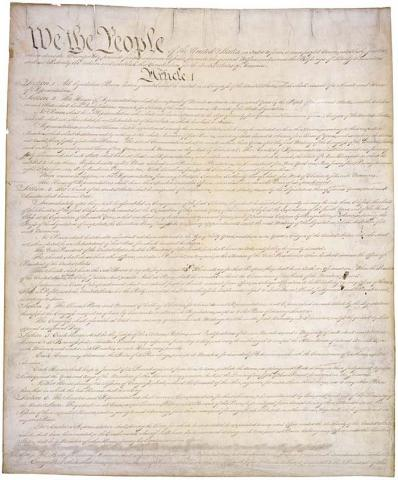 U.S. Constitution Ethics American History Government Law and Politics