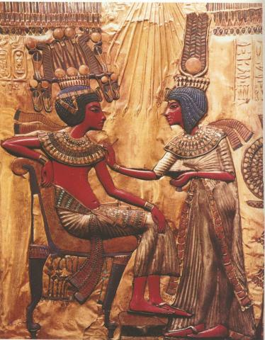 King Tut and his Wife
