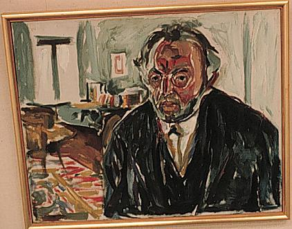 Munch - Self Portrait after Spanish Flu Disasters Famous Historical Events Medicine Tragedies and Triumphs World War I Famous People Visual Arts