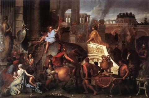 Alexander the Great Enters Babylon Visual Arts Ancient Places and/or Civilizations Social Studies World History