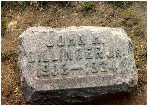 Dillinger - Grave Site of John Dillinger Social Studies American History Biographies Famous People