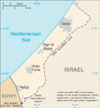 Gaza - Map Locator Ancient Places and/or Civilizations Social Studies World History Geography