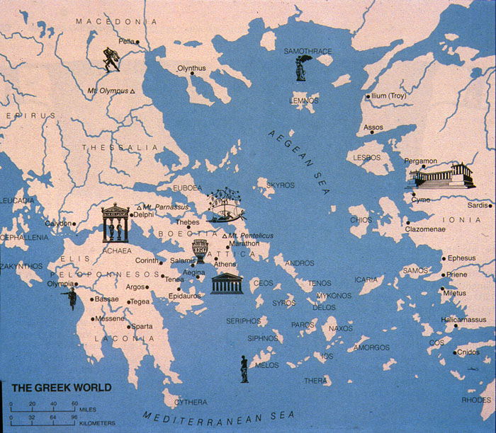 The ancient greek world the ancient greek world ancient places andor civilizations social studies world history geography gumiabroncs Gallery