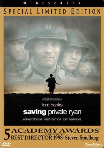 Saving Private Ryan - Movie Poster American History Famous Historical Events Geography Social Studies Visual Arts World War II Film