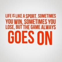 Sports and Life