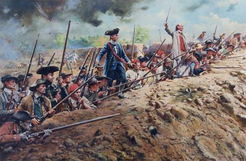 Patriots Dug-in at Breed�s Hill