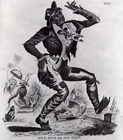 Jim Crow - Character in Minstrel Shows Tragedies and Triumphs American History African American History Social Studies