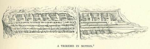 Greek Trireme in Motion Disasters Ancient Places and/or Civilizations Famous Historical Events Film Social Studies World History Visual Arts