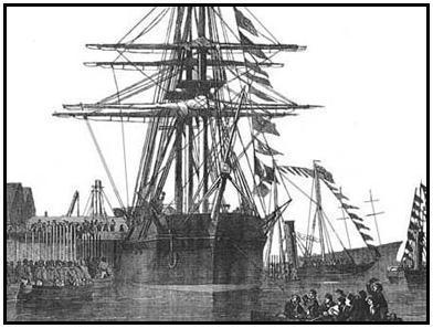 HMS RESOLUTE (Illustration) American Presidents Awesome Radio - Narrated Stories Biographies Famous Historical Events Famous People Film Social Studies World History Nineteenth Century Life American History