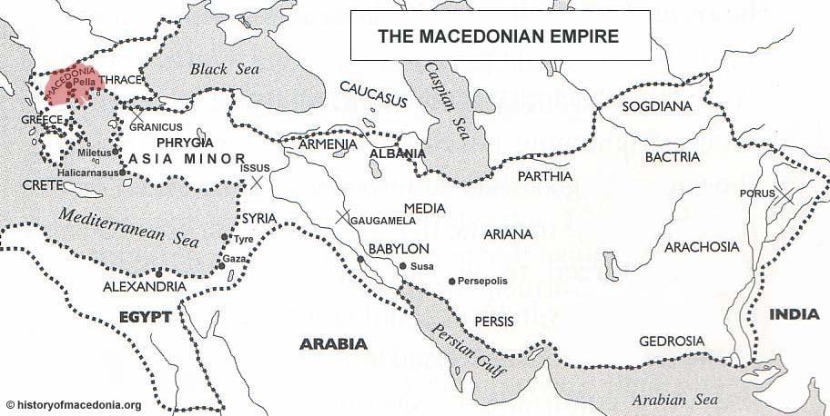 Ancient Macedonian Empire The Macedonian Empire Ancient