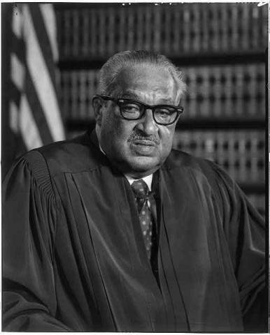 Thurgood Marshall - Associate Justice, U.S. Supreme Court Tragedies and Triumphs African American History Civil Rights Government Social Studies Trials