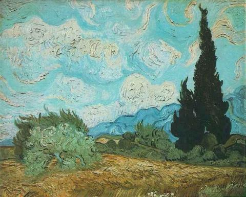 Wheat Field with Cypresses Biographies Tragedies and Triumphs Visual Arts Nineteenth Century Life Famous People