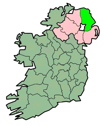 Map Of Irish Provinces Irish States Map Irish Communities Map - Irish language map
