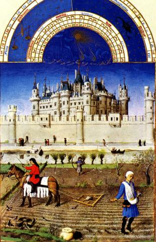 Book of Hours - October History Medieval Times Social Studies World History Visual Arts
