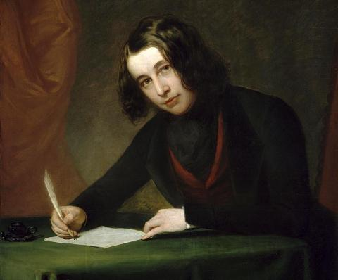 Charles Dickens in 1842 Visual Arts Famous People