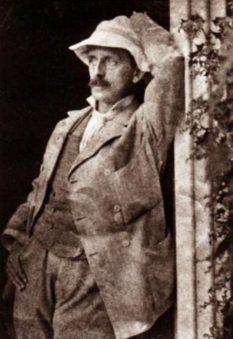 J.M. Barrie Photo - Posing with Hat Biographies Famous People Legends and Legendary People Visual Arts