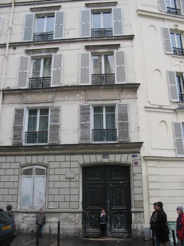 54 Rue Lepic - Theo van Gogh's Paris Home Social Studies Tragedies and Triumphs Visual Arts Nineteenth Century Life Biographies