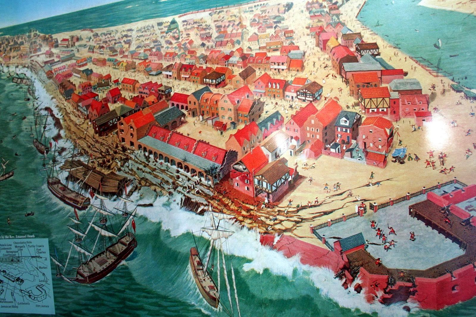 Pirates of the Caribbean  PORT ROYAL EARTHQUAKE
