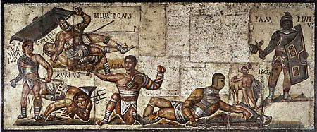 Gladiators - Illustration Visual Arts Ancient Places and/or Civilizations Legends and Legendary People