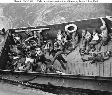 Evacuating Wounded Troops World War II American History Social Studies
