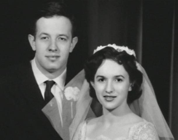 John and Alicia Nash - Wedding Photo Famous People Film