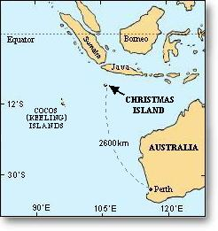 Christmas Island - Disaster Scene in 2010