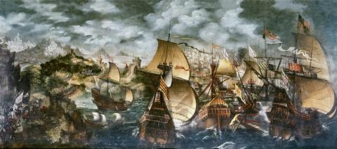 Battle of Gravelines - Formations Geography Social Studies Tragedies and Triumphs World History Visual Arts