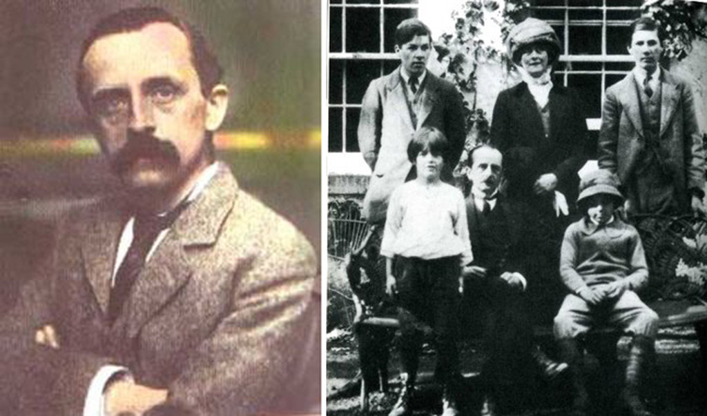 jm barrie and the llewelyn davies boys