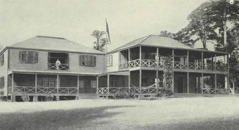 Vailima - Samoan Home of Robert Louis Stevenson Biographies Geography Famous People