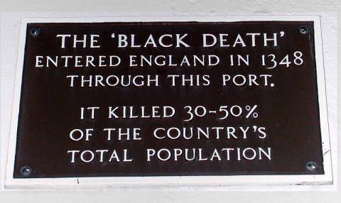 Black Death Entered Britain Through the Port of Weymouth History Social Studies World History Disasters
