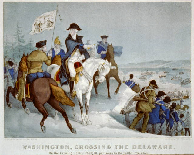 Washington Crosses the Delaware - Painting and Story