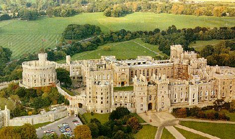 Windsor Castle Geography Law and Politics Medieval Times World History Social Studies