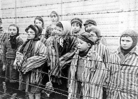 The Boy in the Striped Pajamas (Illustration) Fiction Film World War II World History Civil Rights Law and Politics Social Studies Crimes and Criminals Ethics