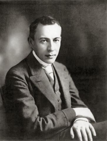 Sergei Rachmaninoff and His Amazing Hand Span (Illustration) Russian Studies Famous People Biographies Music