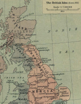 802 BC Map of British Isles