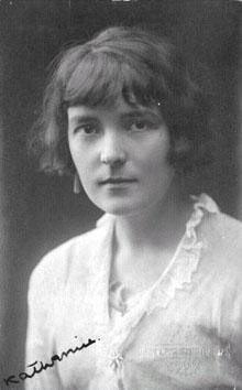 Katherine Mansfield Visual Arts Famous People Fiction