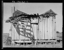 Abandoned Shelter During America's Great Depression