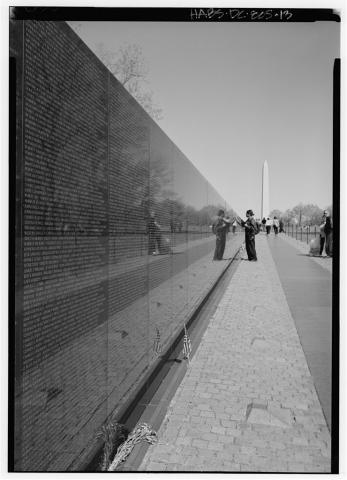 Vietnam War Memorial Visual Arts American History Geography Government Social Studies